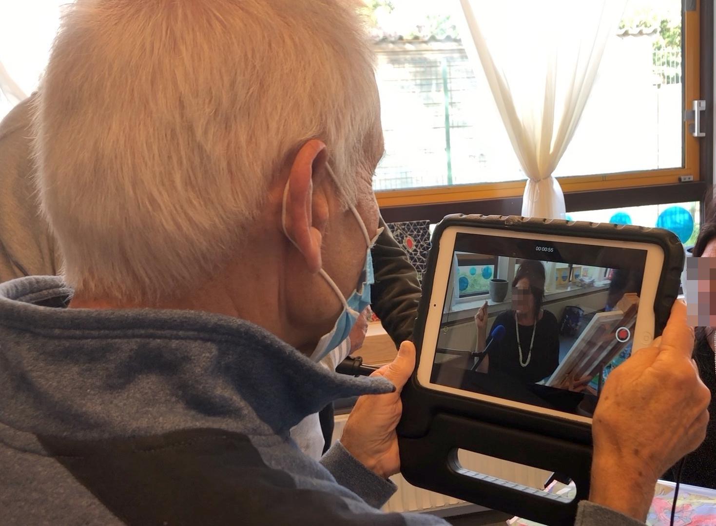 iPad filmcursus interview